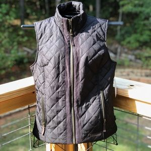 G.H. Bass & Co. Quilted Zipper Pocket Vest Youth M